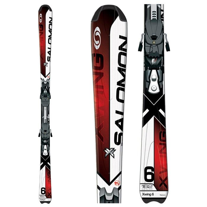 Salomon XW 6 Skis + 711 Bindings 2009
