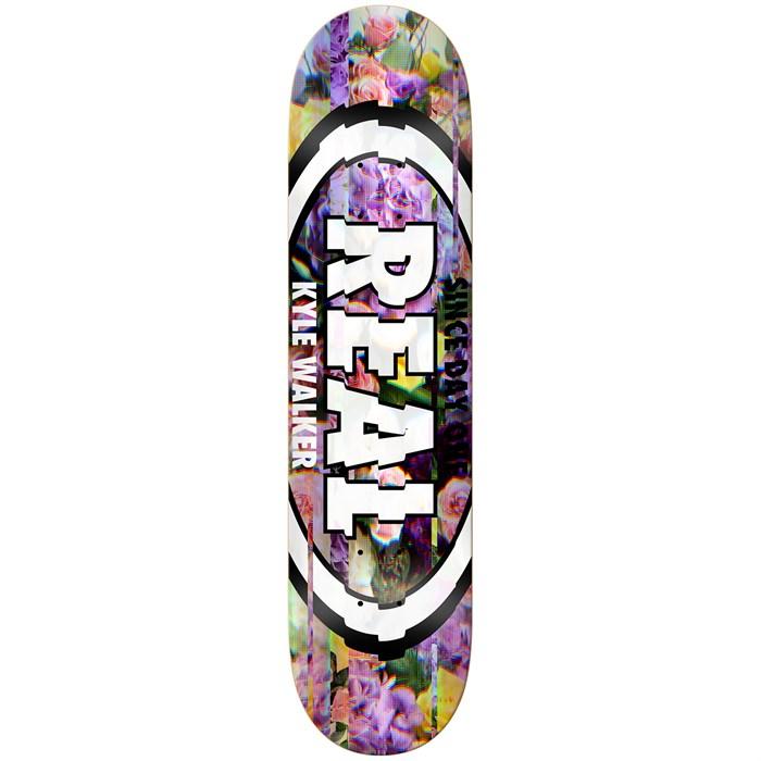 Real - Kyle Glitch Oval 8.06 Skateboard Deck