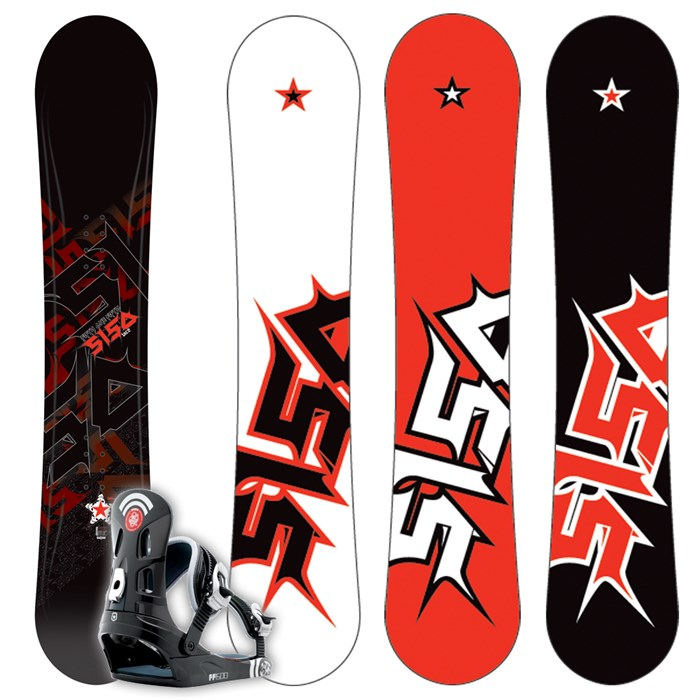 58631449ccc3 5150 - Vice Snowboard + FF1500 (Black) Bindings L 2009