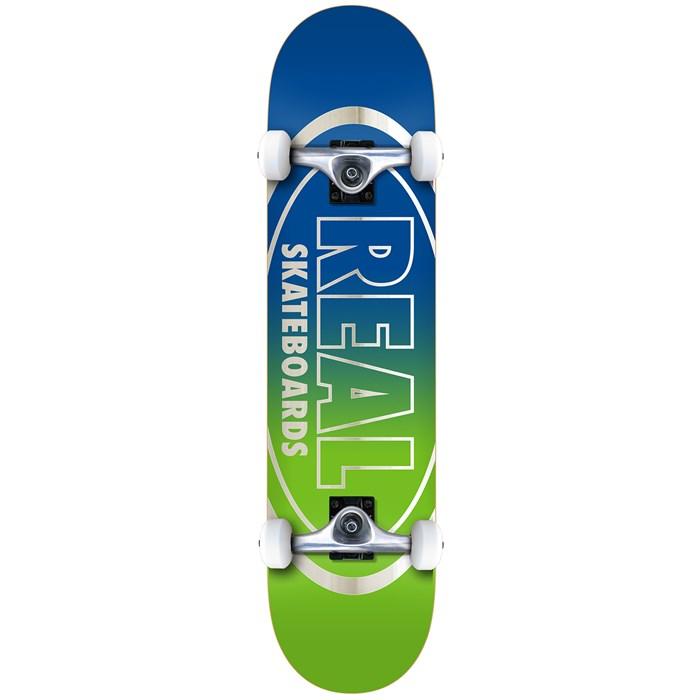 Real - Golden Oval Outline 7.75 Skateboard Complete