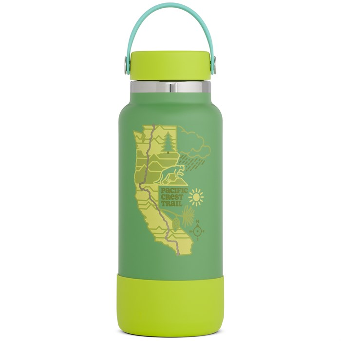 Hydro Flask - Scenic Trails Limited Edition 32oz Wide Mouth Water Bottle