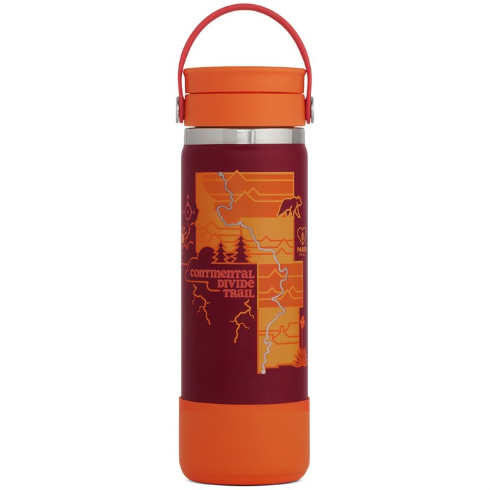 Hydro Flask - Scenic Trails Limited Edition 20oz Wide Mouth Water Bottle
