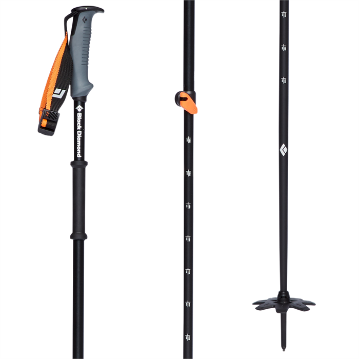 Black Diamond - Traverse WR 2 Adjustable Ski Poles 2022