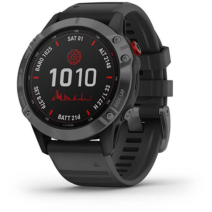 Garmin - fenix® 6 - Pro Solar Edition Multisport GPS Watch