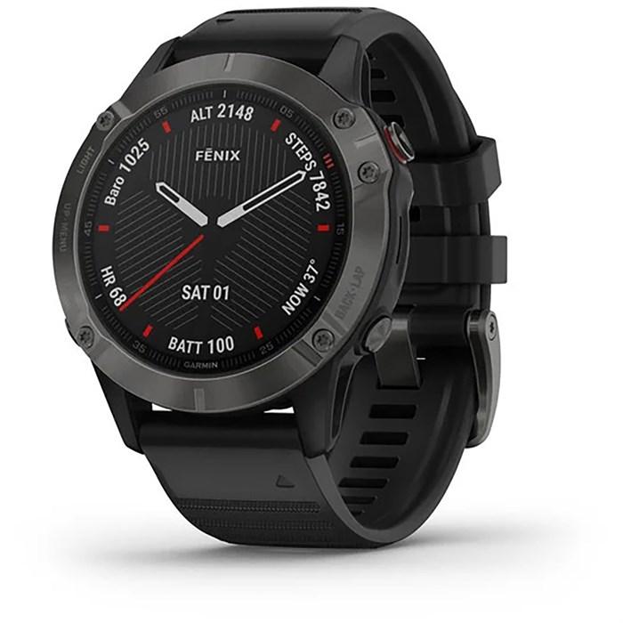 Garmin - fenix® 6 - Sapphire Multisport GPS Watch