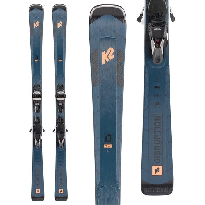 K2 - Disruption 78C Alliance Skis + ER3 10 Compact Quikclik Bindings 2022