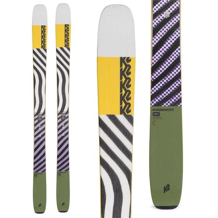 K2 - Mindbender 108Ti Skis 2022