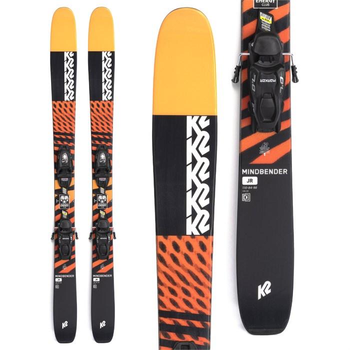 K2 - Mindbender Jr Skis + FDT 7.0 Bindings - Big Kids' 2022