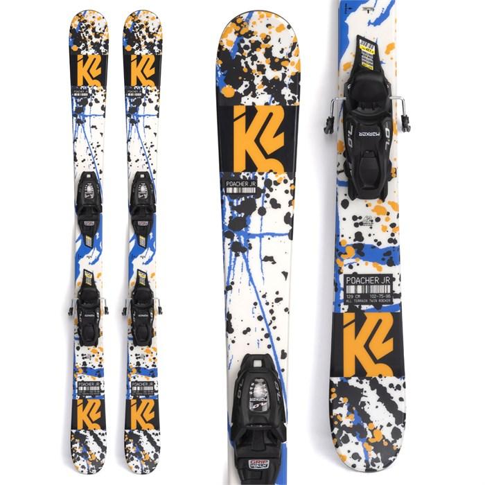K2 - Poacher Jr Skis + FDT 4.5 Bindings - Little Boys' 2022