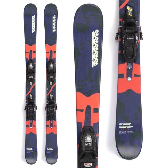 K2 - Dreamweaver Skis + FDT 4.5 Bindings - Little Girls' 2022