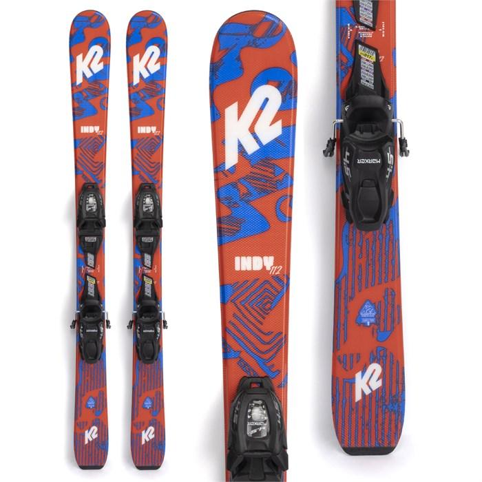 K2 - Indy Skis + FDT 4.5 Bindings - Little Boys' 2022
