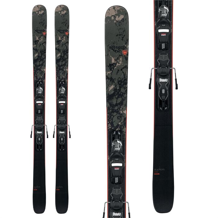 Rossignol - Black Ops Smasher Skis + Xpress 10 GW Bindings 2022