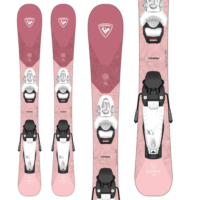 Rossignol - Experience Pro W Skis + Team 4 GW Bindings - Little Girls' 2022