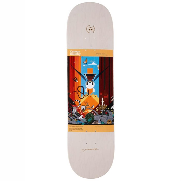 Habitat - Harper Canyon Country 8.25 Skateboard Deck