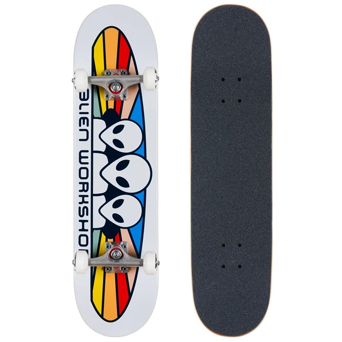 Alien Workshop - Spectrum White Complete 8.0 Skateboard Complete