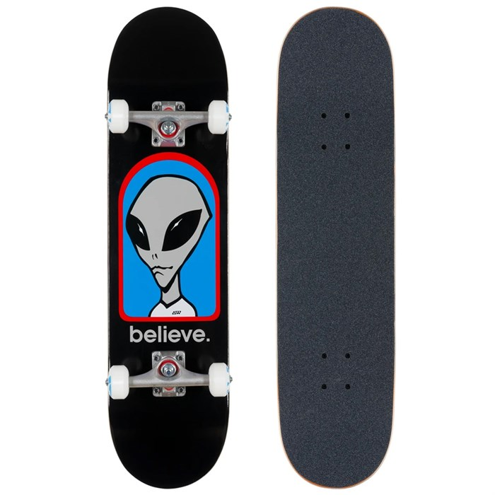 Alien Workshop - Believe Black Complete 7.75 Skateboard Complete