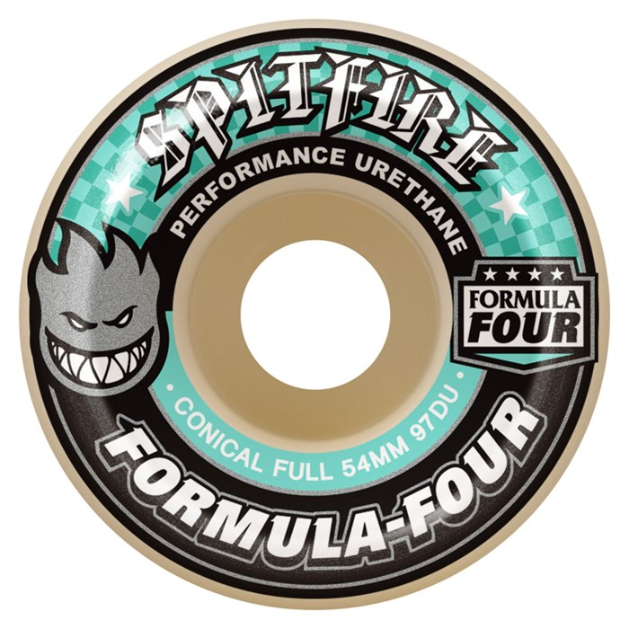Spitfire - Formula Four 97a Conical Full Skateboard Wheels
