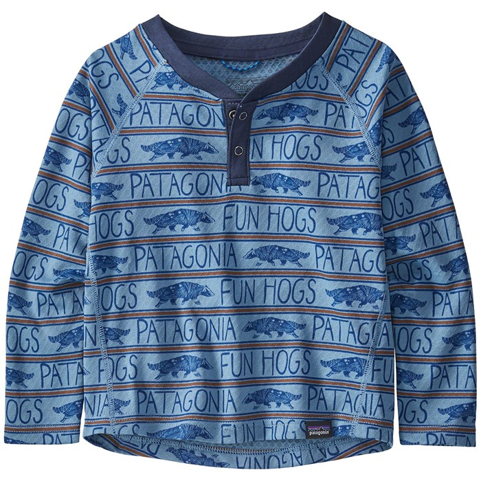 Patagonia - Capilene Midweight Henley - Infants'