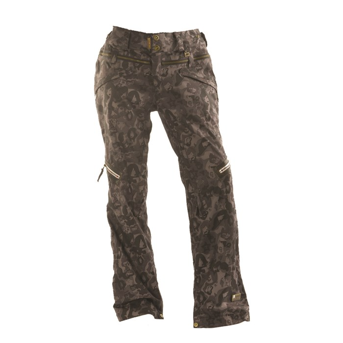 womens ski pants women s metallic anorak pictures to pin on pinterest