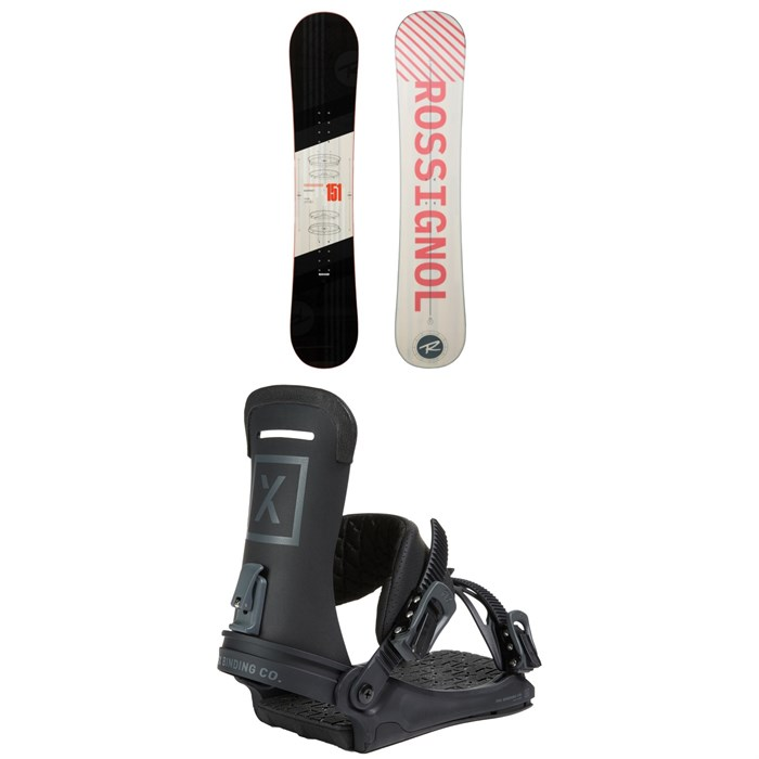 Rossignol - District Snowboard + Fix Yale Ltd Snowboard Bindings 2021