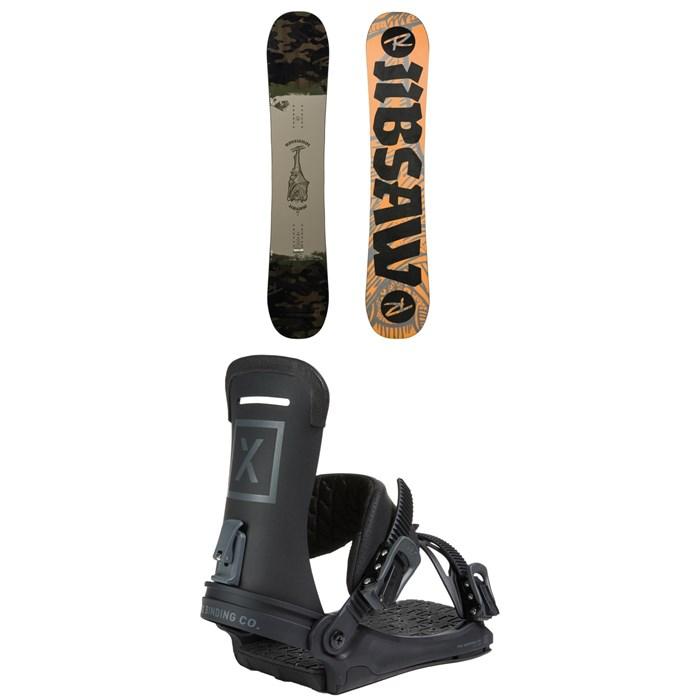 Rossignol - Jibsaw Snowboard + Fix Yale Ltd Snowboard Bindings 2021