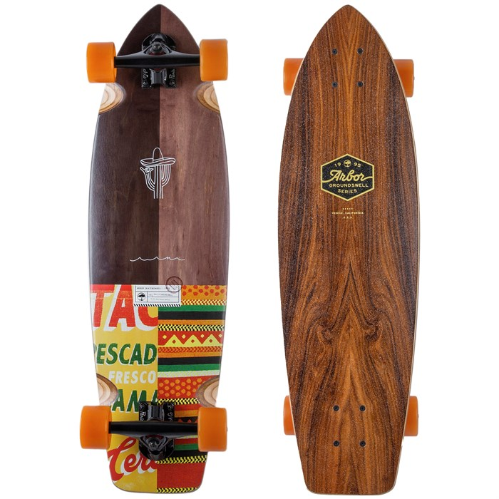Arbor - Groundswell Rally Cruiser Skateboard Complete