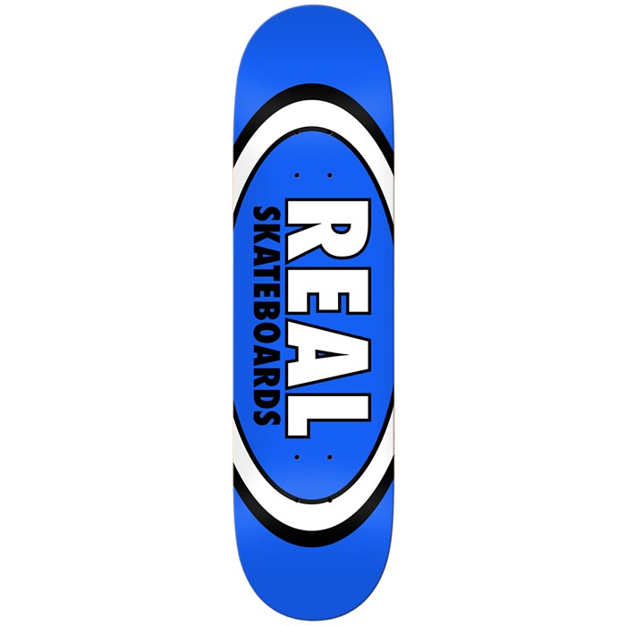 Real - Team Classic Oval 8.5 Skateboard Deck