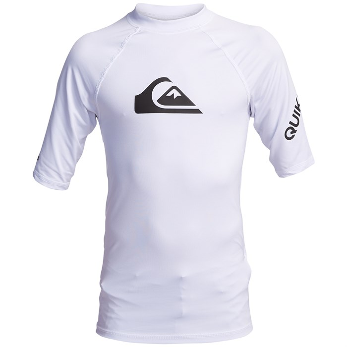 Quiksilver - All Time Short Sleeve Surf Tee - Boys'