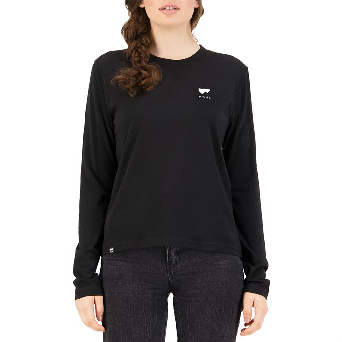 MONS ROYALE - Icon Relaxed LS Top - Women's