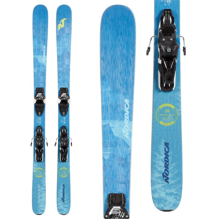 Nordica - Santa Ana 88 Skis + Salomon Warden MNC 13 Demo Bindings - Women's 2021 - Used