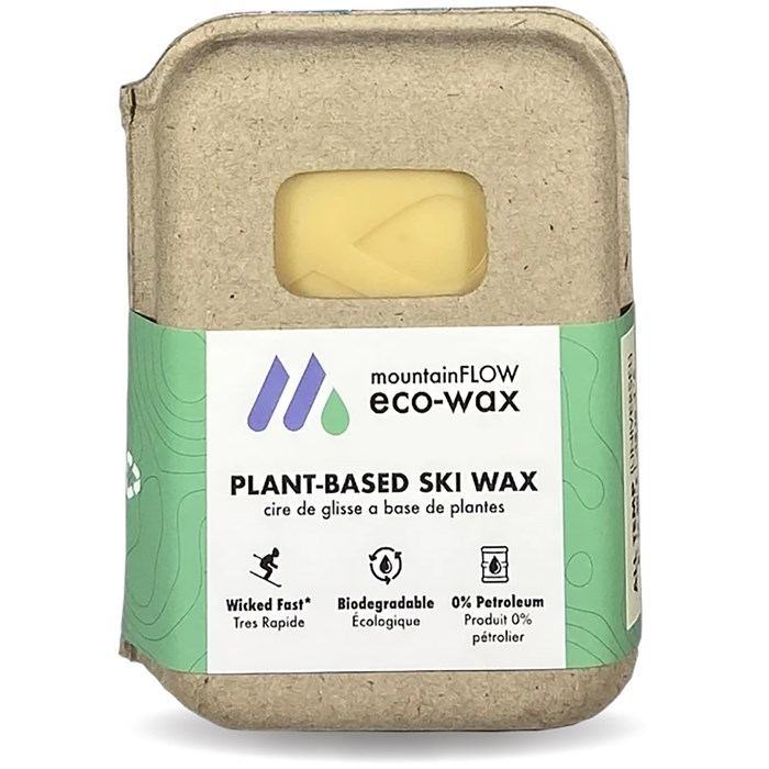 mountainFLOW eco-wax - All-Temp Hot Wax - 8 to 30F