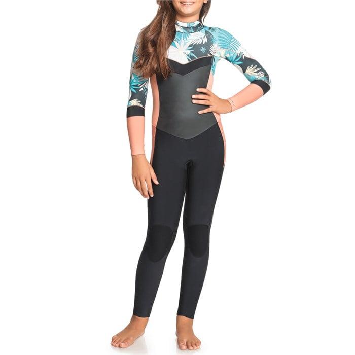Roxy - 4/3 Syncro Back Zip Wetsuit - Girls'
