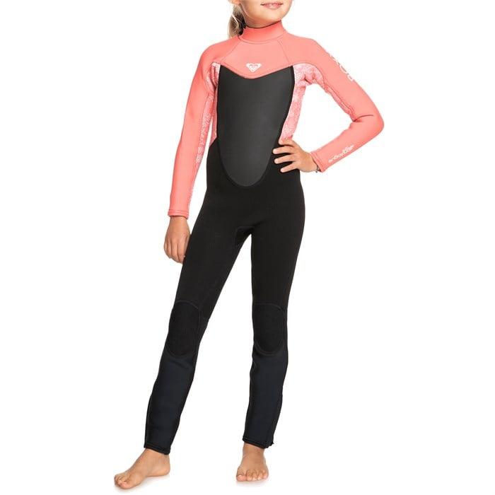Roxy - 3/2 Prologue Teeny Back Zip Wetsuit - Little Girls'
