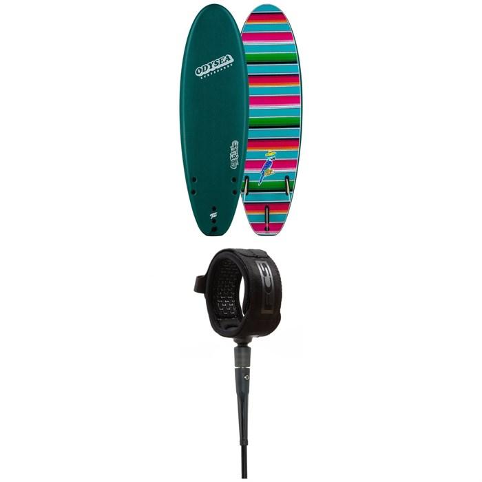 """Catch Surf - Odysea 6'0"""" Log x Johnny Redmond Surfboard + FCS 6' All Around Essential Leash"""