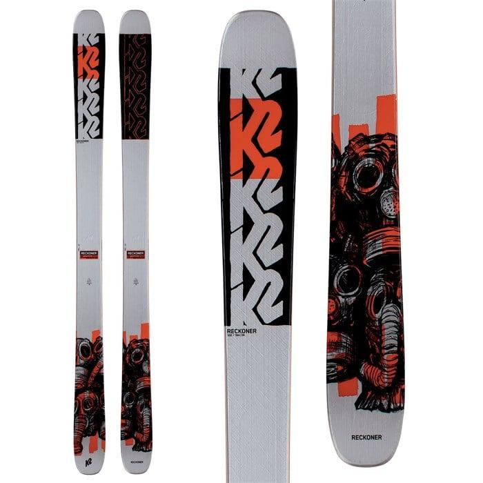 K2 - Reckoner 102 Skis + Armada Warden MNC 13 Bindings 2021 - Used