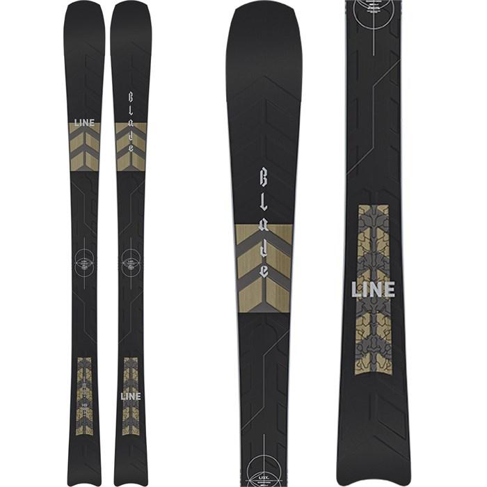 Line Skis - Blade W Skis + Salomon Warden MNC 11 Demo Bindings - Women's 2021 - Used