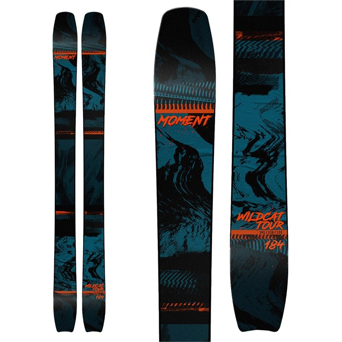 Moment - Wildcat Tour Skis + Shift MNC 13 Bindings + Black Diamond Ascension STS Skins 2021 - Used
