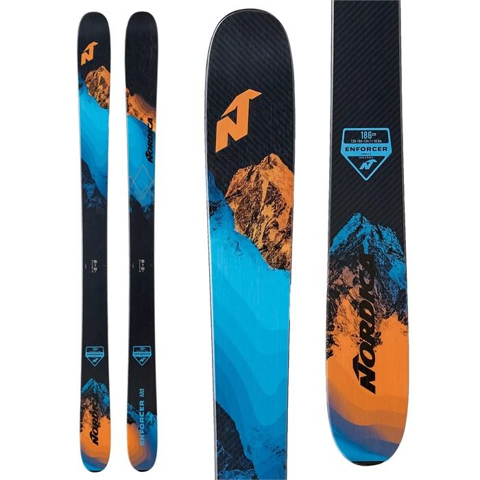 Nordica - Enforcer Free 104 Skis + Salomon Warden MNC 13 Demo Bindings 2021 - Used