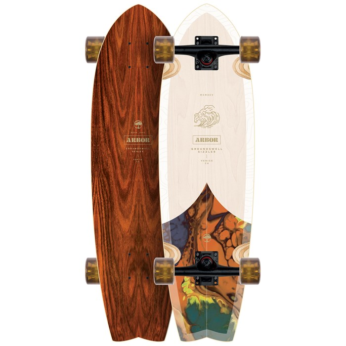 Arbor - Sizzler Groundswell Cruiser Complete
