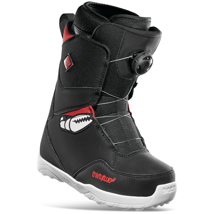 thirtytwo - Youth Lashed Crab Grab Boa Snowboard Boots - Kids' 2022