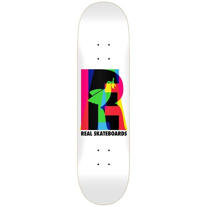 Real - Eclipsing White 8.25 Skateboard Deck