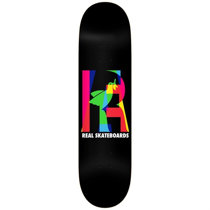 Real - Elipsing Black 8.06 Skateboard Deck
