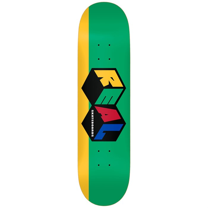 Real - City Blocks 8.25 Skateboard Deck