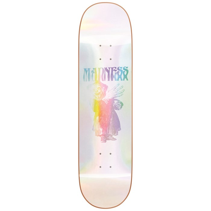 Madness - Back Hand Popsicle R7 Holographic 8.375 Skateboard Deck