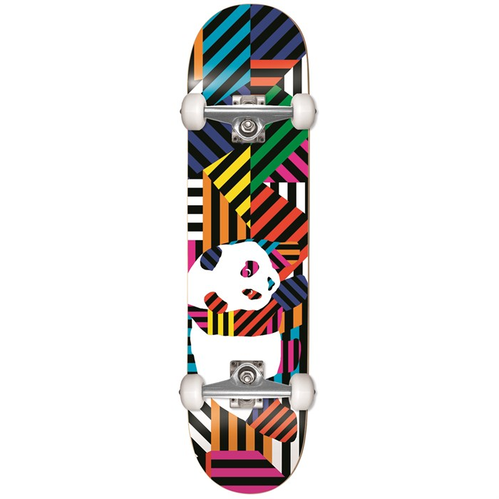 Enjoi - Panda Stripes Soft Wheels 7.75 Skateboard Complete