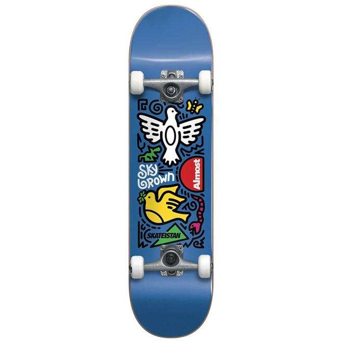 Almost - Skateistan Sky Doodle FP Blue 7.5 Skateboard Complete