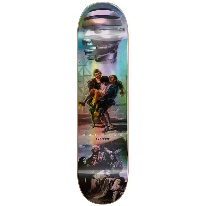 Madness - Trey Blackout R7 Holographic 8.25 Skateboard Deck