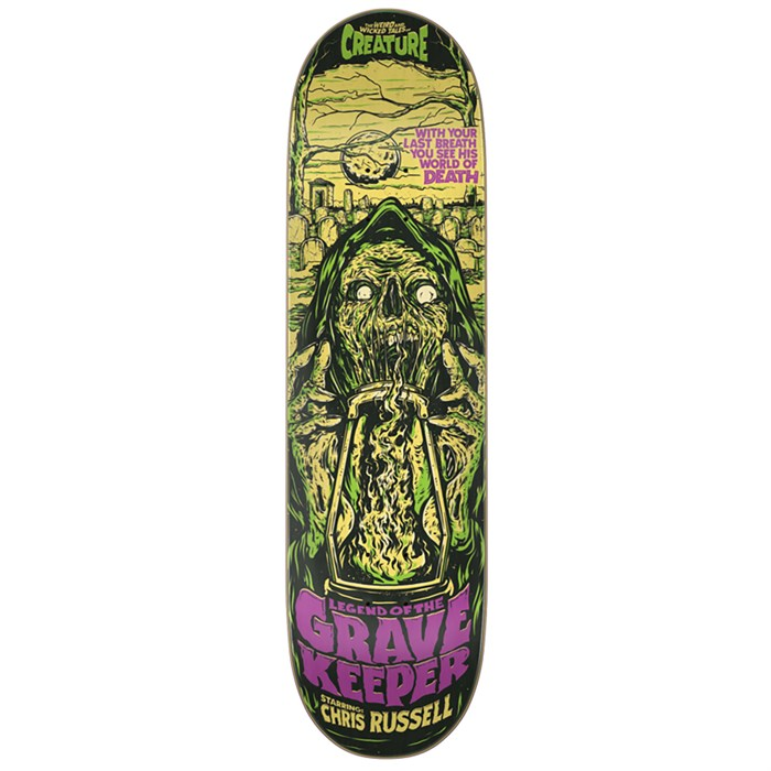 Creature - Russell Wicked Tales 8.5 Skateboard Deck