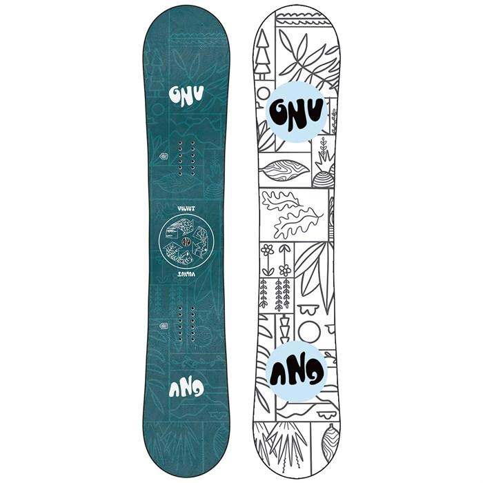 GNU - Asym Velvet C2 Snowboard - Women's 2022