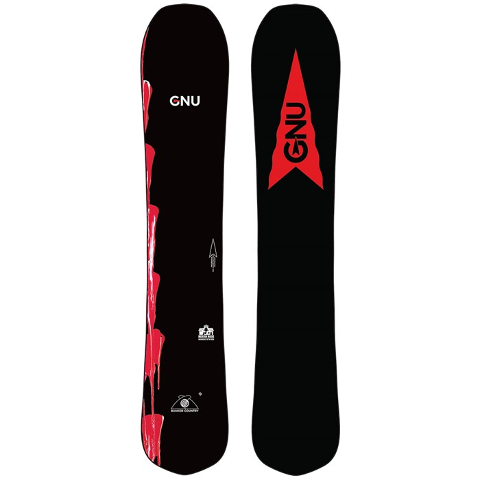 GNU - Banked Country Snowboard 2022 - Used